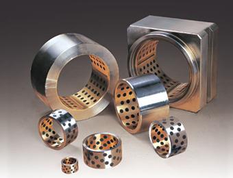 LBR-620钢基铜合金镶嵌型固体润滑衬套